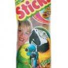 Amazon Parrot Fruit Stix 2pk See - through Packaging