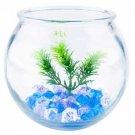 Glass Betta Cove Kit 1/2 Gallon Round