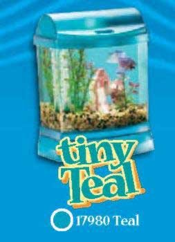 Mini Bow 1 Junior Aquarium Kit - Tiny Teal