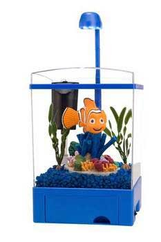 The Finding Nemo Aquarium Kit Featuring Nemo 1.5 Gallon
