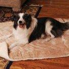 Snoozy Doggie Kitty Blankie Caramel/fleece Small 19x23