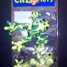 Silky Fatty Frog Catnip Toy 2pk
