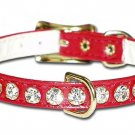 3/8 Majestic Jeweled Collar w/Center Dee