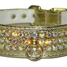 Rhinestone Collar 3-Row w/post