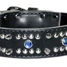 "1 1/2"" DF Spiked, Studded, & Jeweled Latigo"