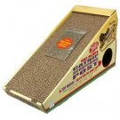 Ski Slope Cardboard Scratching Post With Catnip