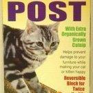 Cardboard Scratching Post X - wide With Catnip