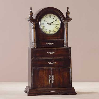 Wood Mantel Clock 34819