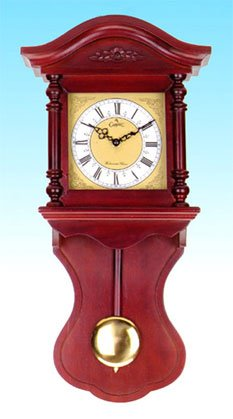 Mahogany Wall Clock 28266