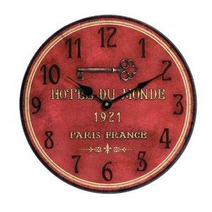 Hotel Du Monde Wall Clock 35181