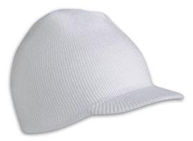 Bennie Hat Colors: wht/navy. Bennie hats men or wom