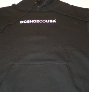 DC Logo Hoodie size: M NEW w/ Tags BLK