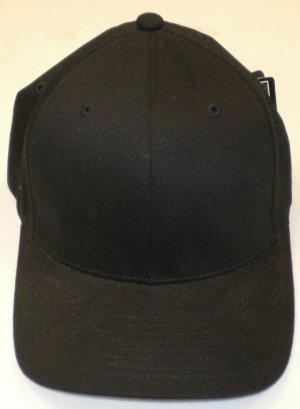 Plain Felx Fit Hat size: L/XL NEW w/ Tags Blk