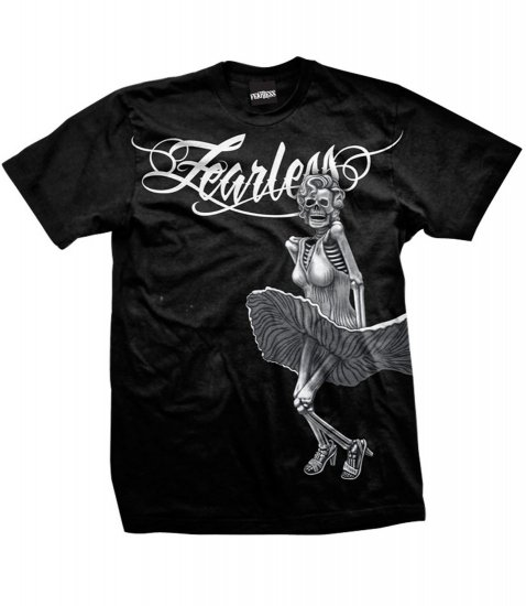 Fearless Men's Spinner T-shirt  NEW w/ Tags!