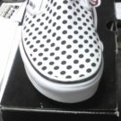 Vans Classi Slip On's Plkadts/blk New In Box!