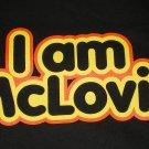 I Am McLovin Blk/Yellow T-shirt New!