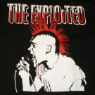 The Exploited Blk/Wht T-shirt  New!