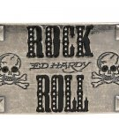 Ed Hardy Belt Buckle New! Rock & Roll EH6008D