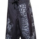 Fearless Saint Men's Board shorts New w/ Tags!