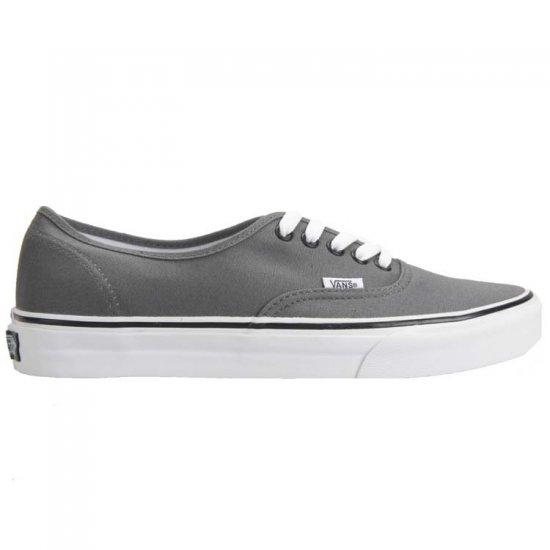 Vans Authentic Men's Shoes Pewter / Black New In Box!