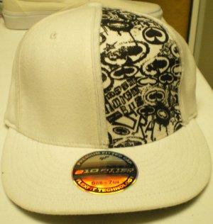 SRH Hat All Spade 2 Hat Wht/Blk New w/ Tags!
