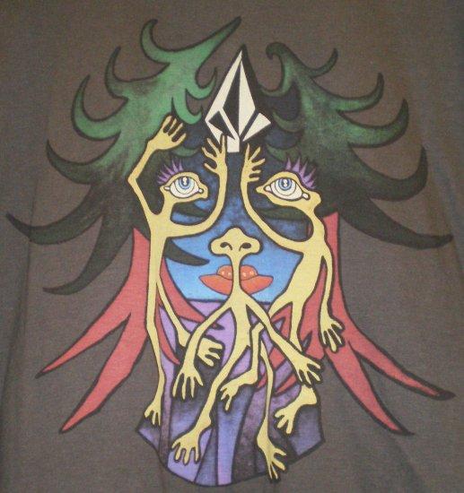 Volcom Mens T-shirt Gray New w/ Tags!