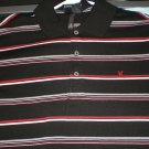Hurley One & Only Polo Shirt Blk/Red/Gry New w/ Tags!