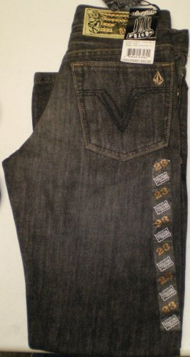 Volcom Youth black Jeans New w/ Tags!