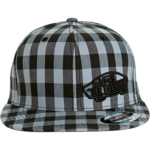 Vans Suiting Style Hat Gray/Black New w/ Tags!