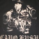 OG Genetics T-shirt Capo Kush Blk/Brn New!