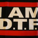 I Am D.T.F Jersey Shore T-shirt New!