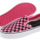 Vans Classic Slip-On™ Core Classics Black/Fandango Pink Checkerboard New In Box!