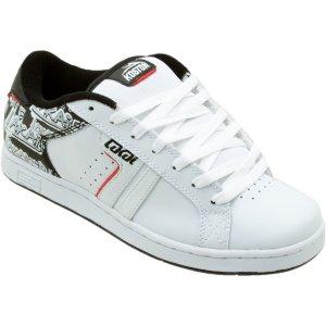 Lakai Lakoston Skate Shoe - Men's Wht/Leather  New In Box!