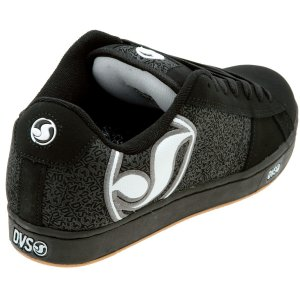 DVS Vendetta Skate Shoe - Men's Black Nubuck Print New In Stock!