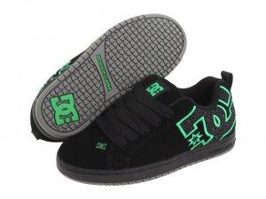DC Court Graffik SE Blk/Emerald/Star New In Box!