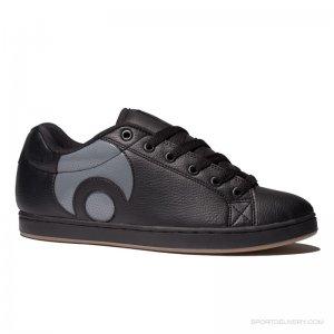 Osiris Troma Icon Black/Charcoal/Gum Men's Shoes Size: 5