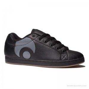 Osiris Troma Icon Black/Charcoal/Gum Men's Shoes Size: 10