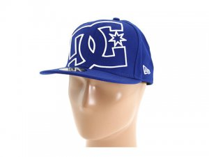 DC Coverage II Hat New w/Tags. Blue/White