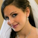 CRYSTAL and FRESHWATER PEARL WEDDING TIARA