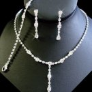 5 Sets Elegant CRYSTAL WEDDING BRIDESMAID JEWELRY!