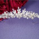NEW! Winter Wonderland White and Silver Wedding Tiara!
