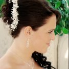 Light Ivory Pearl and Crystal Wedding Bridal Hair Comb