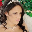 NEW! Keshi Pearl Bridal Wedding Tiara & Jewelry Set!