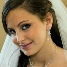 Crystal and Pearl Wedding Jewelry and  Bridal Tiara Set