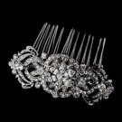 Vintage Inspired Diamante Crystal Wedding Hair Bridal Comb