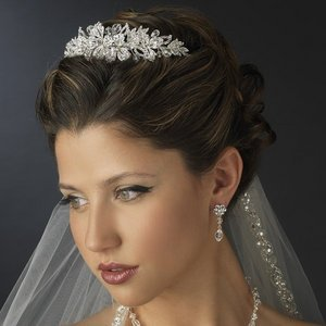 Gorgeous New Crystal and Diamante Rhinestone Bridal Wedding Tiara