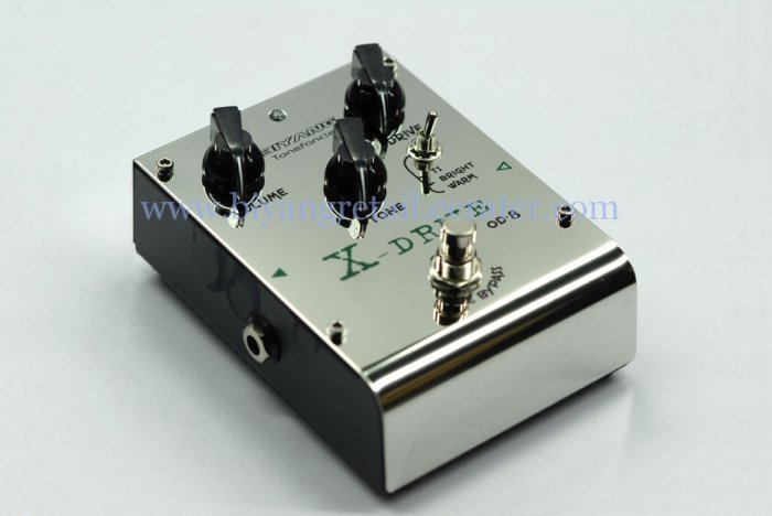 (OD-8)Change chips overdrive guitar effects pedal