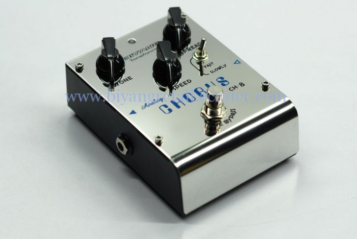 (CH-8)Analog chorus guitar effects pedal