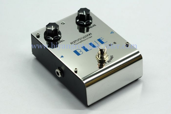 (BL-8)Blue overdrive guitar effect pedal