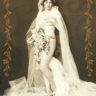 ACEO Art Card The Bride HennaToo Girls Vintage Nude